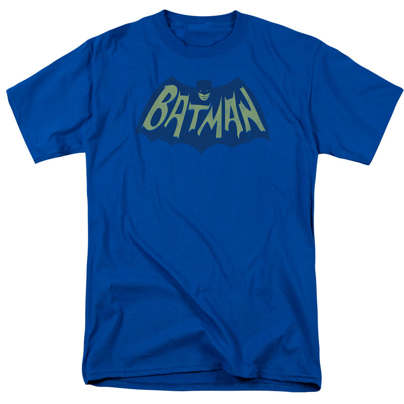 Batman- Bat Logo - Short Sleeve Adult T-shirt - Royal Blue
