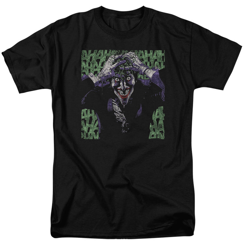 Batman DC Comics Superhero Joker Insanity Adult T-Shirt Tee - Kryptonite Character Store