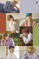 BTS (Bangtan Boys) - Group Wall Poster- Kryptonite Character Store