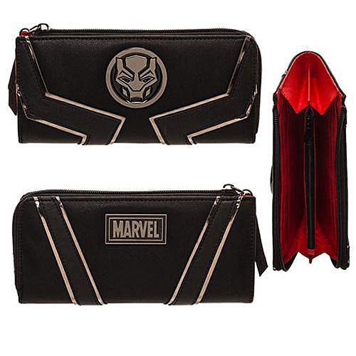 Black Panther Women's Zip Wallet