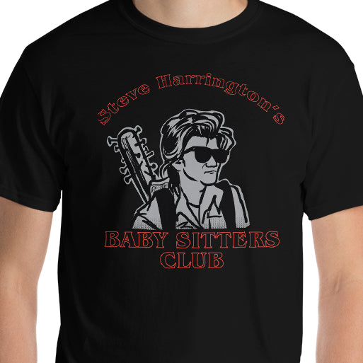 Steve Harrington's Baby-Sitters Club Inspired Stranger Things T-Shirt Steve Harrington shirt, steve harrington stranger things, steve harrington tee