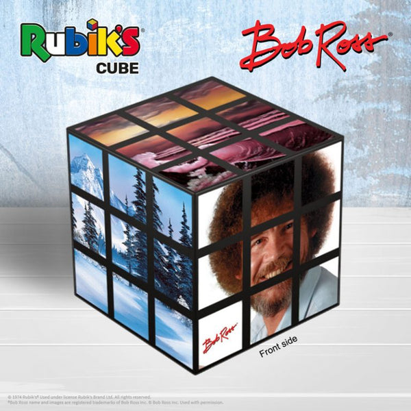 Bob Ross Edition Rubik's Cube