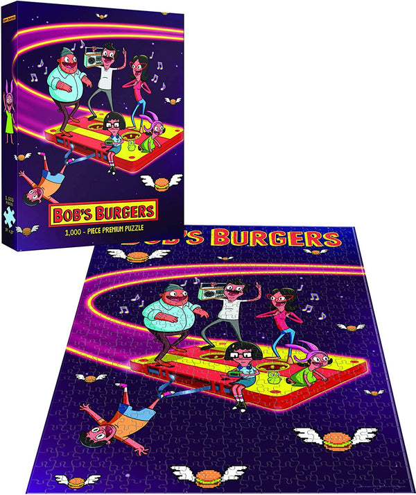Bob's Burgers Belchers in Space 1000Pc Premium Puzzle  - Kryptonite Character Store