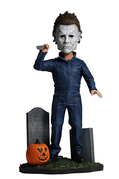 Halloween 2018 Head Knocker Michael Myers 8-Inch Bobble Head - Kryptonite Character Store