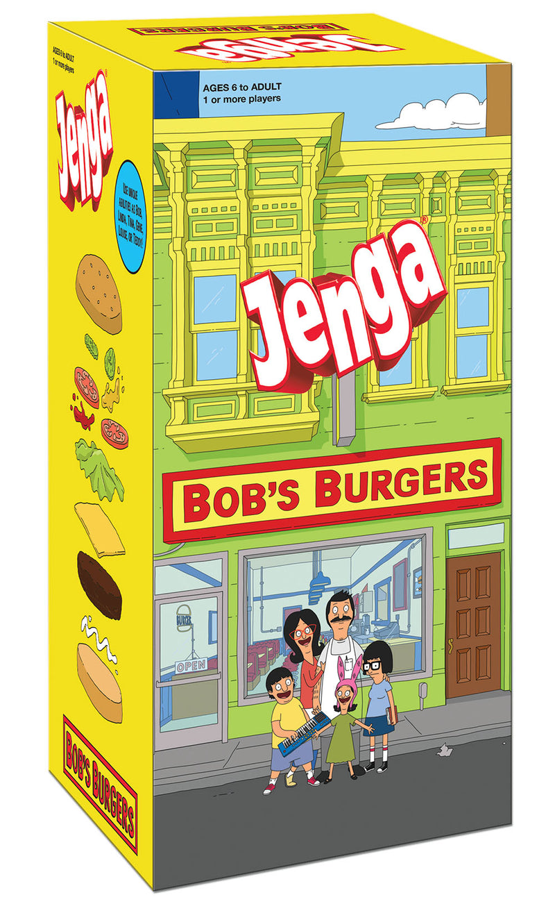 Bob's Burgers Edition JENGA Game