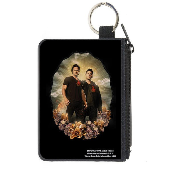 Supernatural Sam & Dean Winchester Saints & Sinners Pose Mini Wallet - Kryptonite Character Store