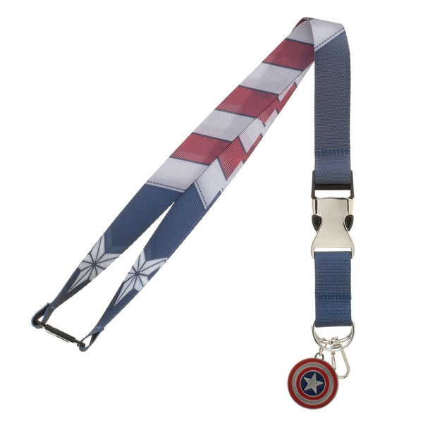 Captain America Suit-Up Lanyard- Kryptonite Character Store