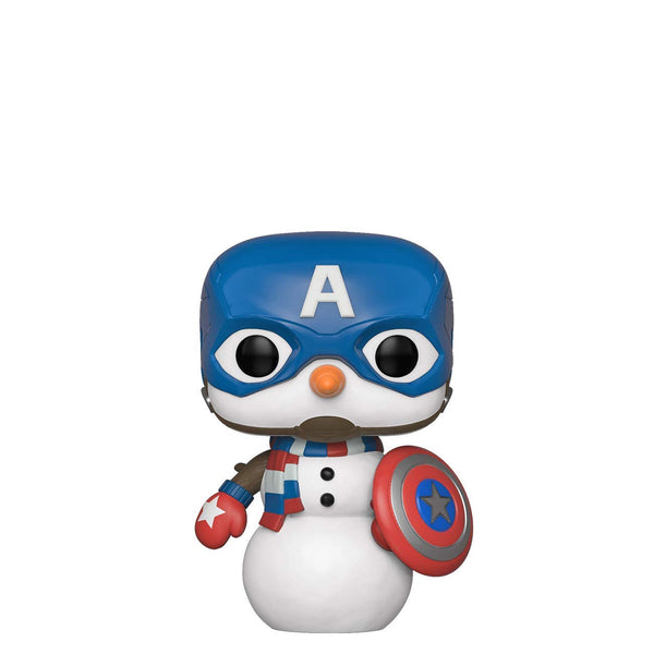 Funko Pop! Marvel: Holiday - Captain America Snowman