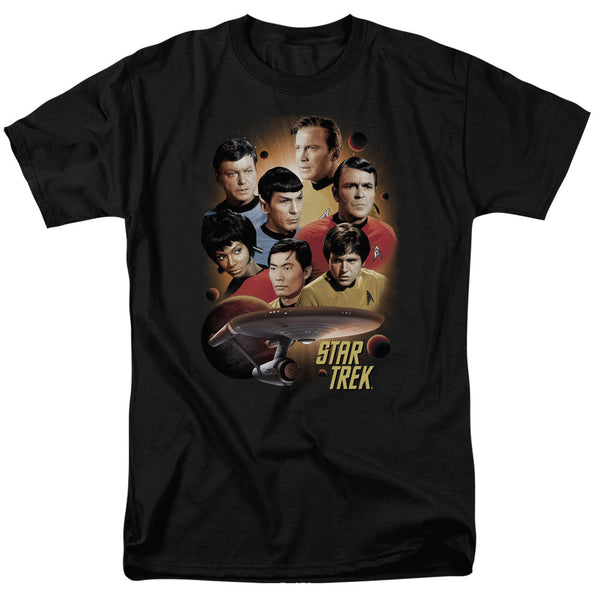Star Trek Heart of The Enterprise Short Sleeve Adult T-Shirt - Kryptonite Character Store