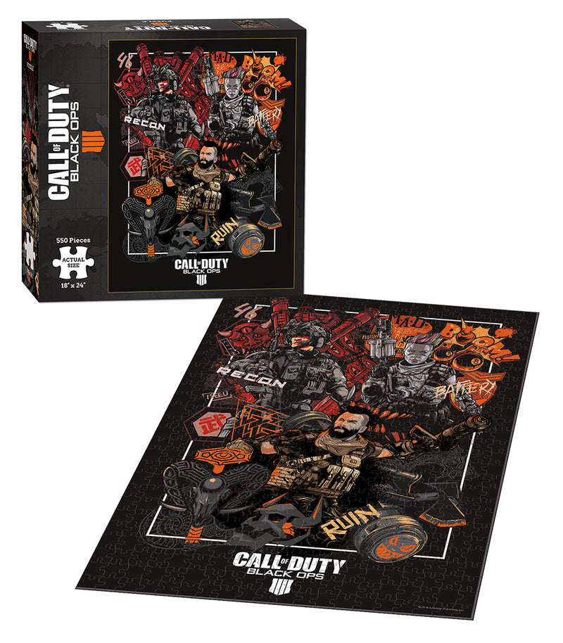 "Call of Duty Black Ops 4 ""Specialist"" 550 Piece Puzzles"