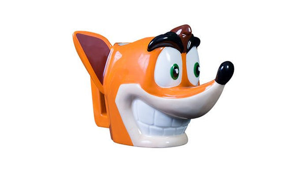 Crash  Bandicoot 3D  Molded Mug