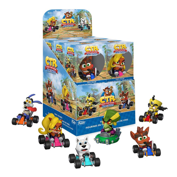 Funko Mystery Minis Crash Team Racing Nitro Fueled Vinyl Figures