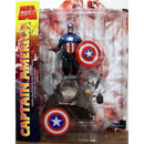 Marvel Select Captain America Action Figure - Kryptonite Character Store