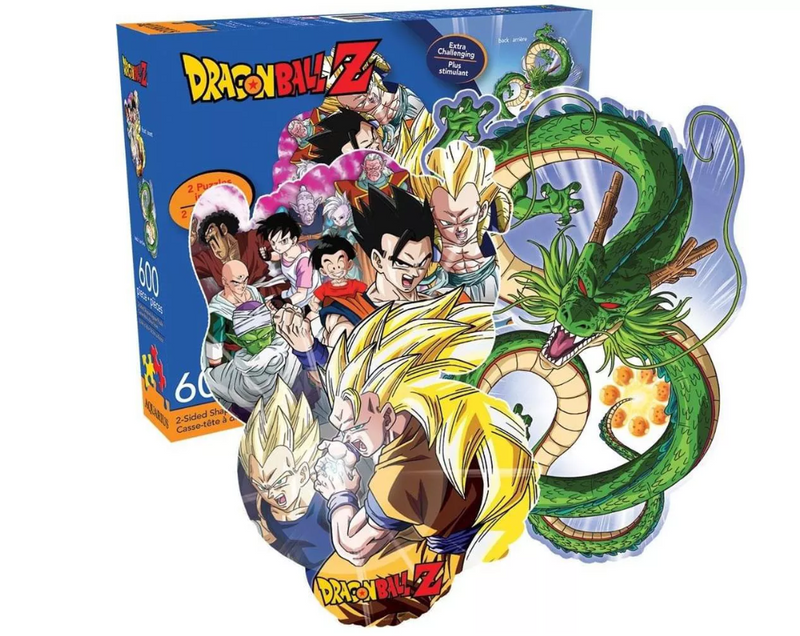 NMR Distribution Dragon Ball Z 600-Piece 2-Sided Jigsaw Puzzle