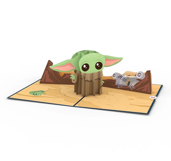 Star Wars: The Mandalorian The Child 3D card