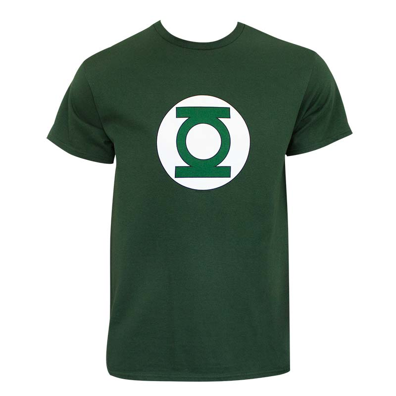DC Comics Green Lantern Logo Officially Licensed Green T-Shirt