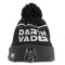 Darth Vader Jumbo  Cheer star Wars Fleece- Lined Knit Pom Beanie- Kryptonite Character Store