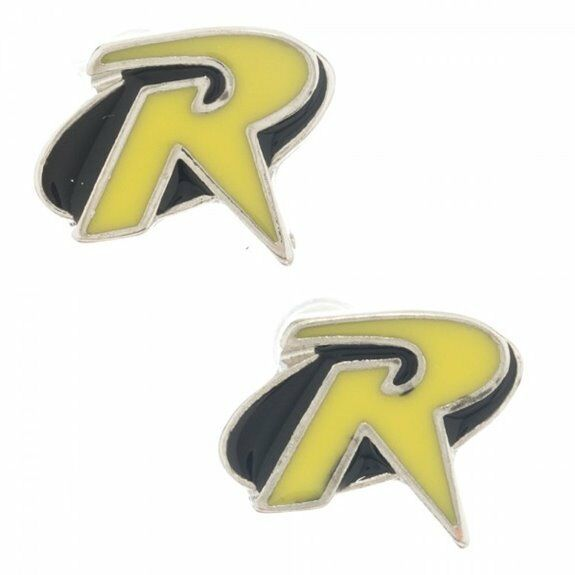 DC Comics - Robin Enamel Fill Stud Earrings