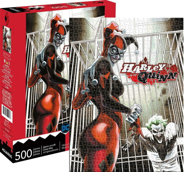 DC Comics Harley Quinn & Joker 500 Piece Jigsaw Puzzle - Kryptonite Character Store