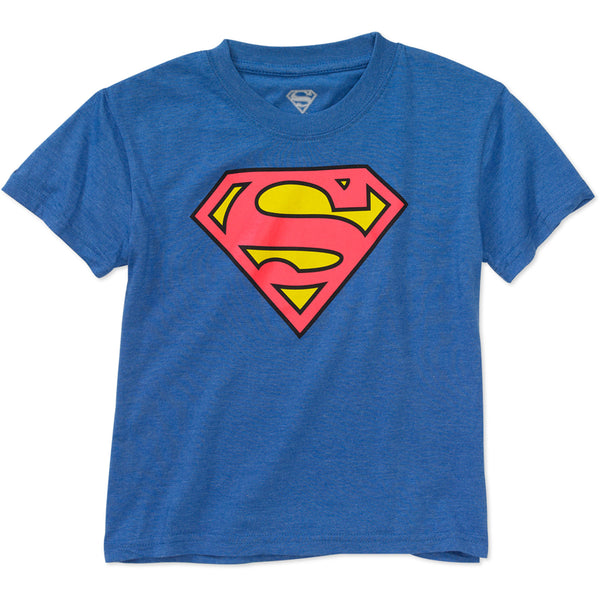 DC Comics Superman Logo Graphic Short Sleeve Youth T-Shirt - Kryptonite Character Store
