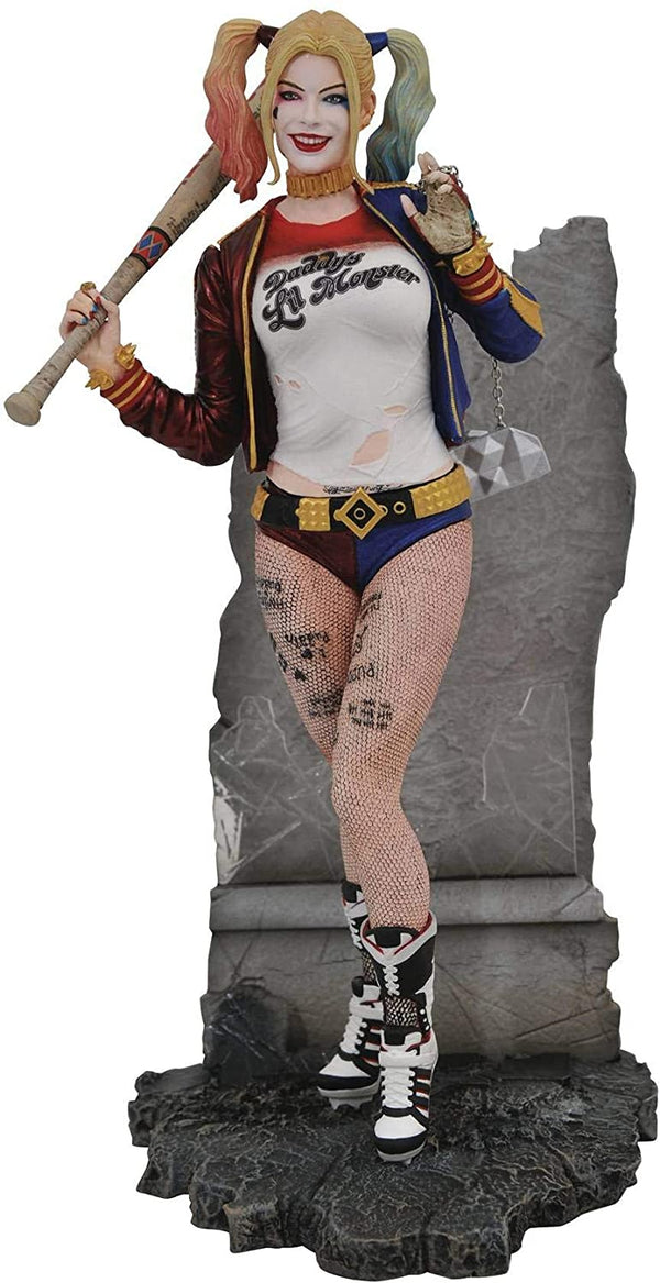DC Gallery: Suicide Squad Movie Harley Quinn PVC Figure - Kryptonite Character Store