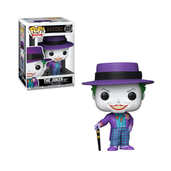 DC Heroes: Batman 1989 - Joker w/ Hat Funko Pop! Vinyl Figure