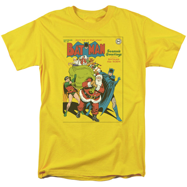 Batman, Robin and Santa  Christmas T-shirt - Kryptonite Character Store