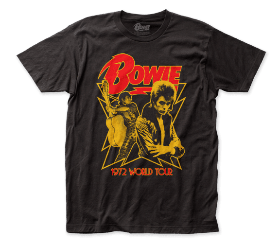David Bowie – 1972 World Tour T-Shirt