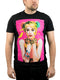 Dc Comics Birds Of Prey Men's Harley Quinn Photo Graphic T-shirt