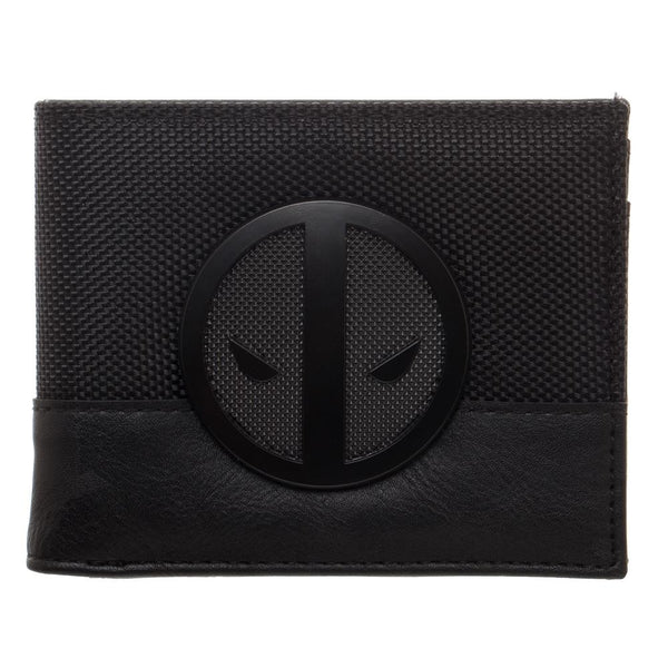 Deadpool Black Badge Bi-Fold Wallet- Kryptonite Character Store