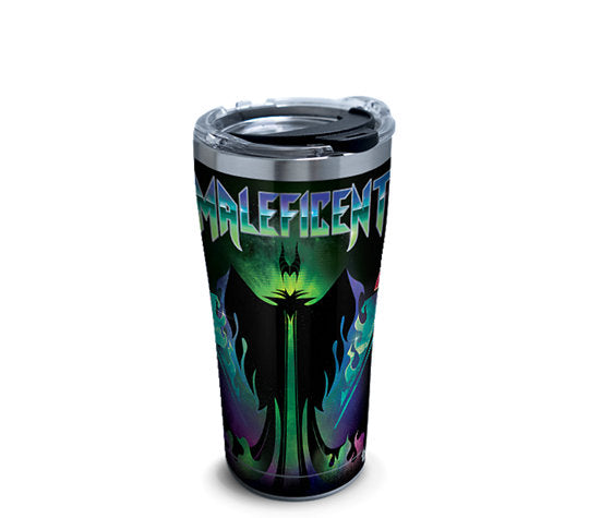 Disney Villains - Maleficent Stainless Steel with Hammer Lid 20 Oz.- Kryptonite Character Store