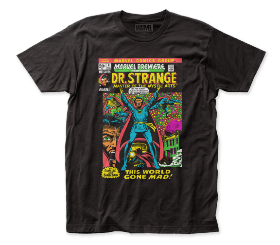 Marvel Cosmic - Dr. Strange Let Magic Reign T-shirt - Kryptonite Character Store
