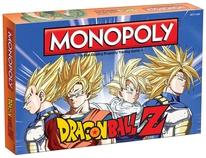 Dragon Ball-Z Edition MONOPOLY
