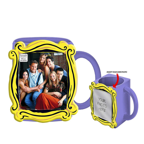 Friends Group in Frame Ceramic 3D Sculpted Mug- Kryptonite Character Store