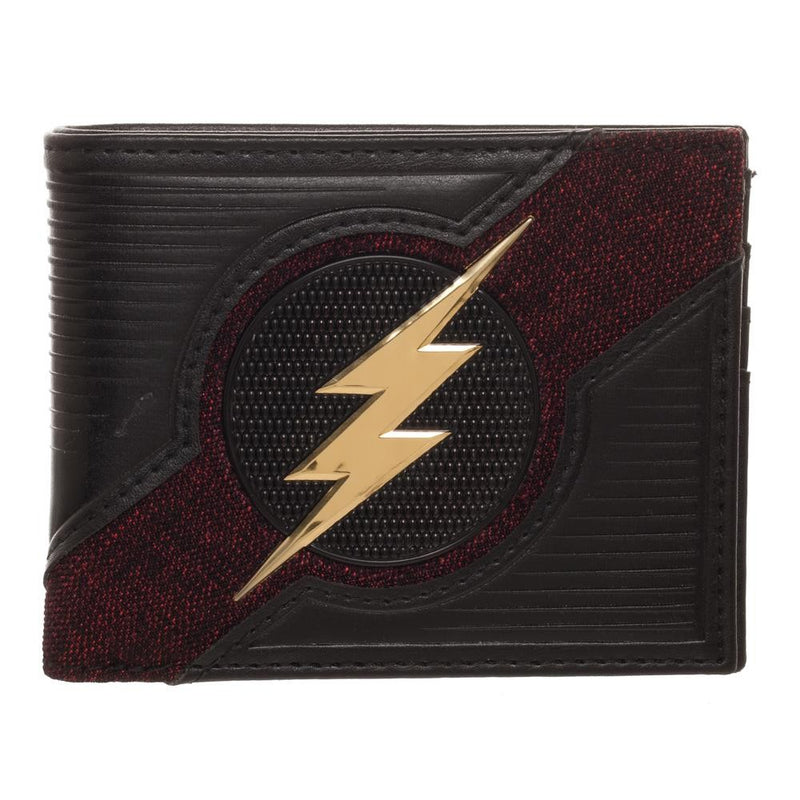 DC Comics  Flash Chrome Weld Patch - Wallet- Kryptonite Character Store