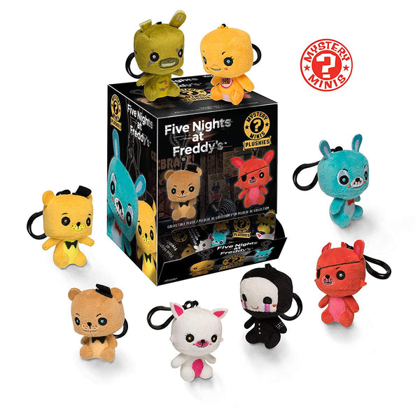 Funko Five Nights at Freddys Plush Five Nights at Freddy's Mystery Minis Plush Key Chain Display Case- Kryptonite Character Store