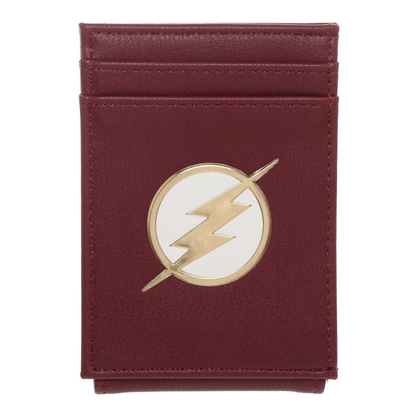 DC Comics The Flash Money Clip Cardholder Wallet -  Kryptonite Character Store