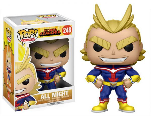 My Hero Academia - All Might Pop Vinyl Figure - Kryptonite Character Store