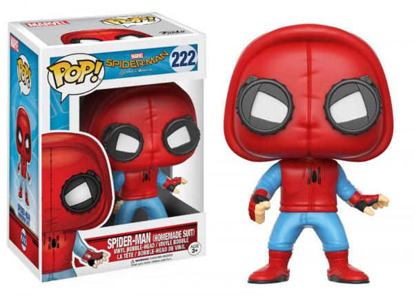Spider-Man with Homemade Suit Pop Vinyl Figure - Kryptonite Character Store