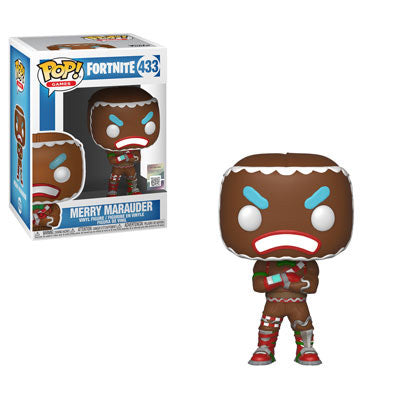 Fortnite S1 - Merry Marauder Pop Games Vinyl Figure - Kryptonite Character Store