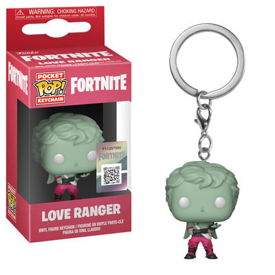 Fortnite Love Ranger Funko Mini Pop Keychain - Kryptonite Character Store