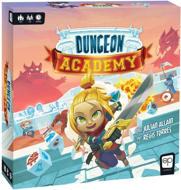 Dungeon Academy Board Game - Kryptonite Character Store