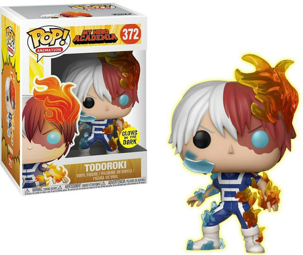 Funko My Hero Academia POP! Animation Todoroki Exclusive Vinyl Figure #372 [Glows-in-the Dark] - Kryptonite Character Store