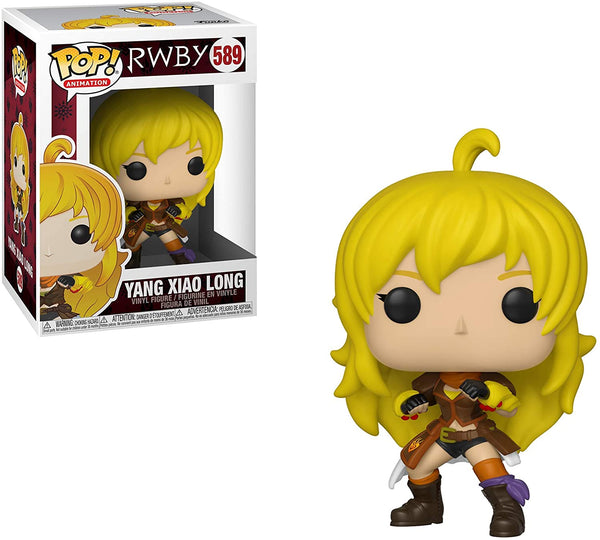 Funko Pop! Animation: RWBY - Yang Xiao Long - Kryptonite Character Store