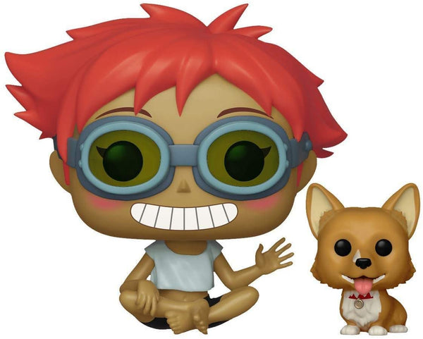 Funko Pop & Buddy Animation: Cowboy Bebop - Edward & EIN Collectible Figure - Kryptonite Character Store