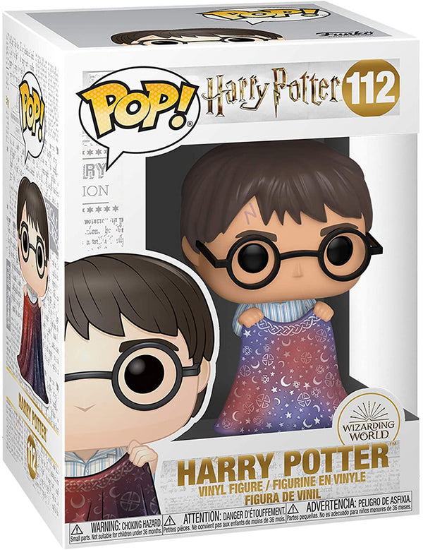 Funko Pop! Harry Potter: Harry Potter - Harry with Invisibility Cloak - Kryptonite Character Store