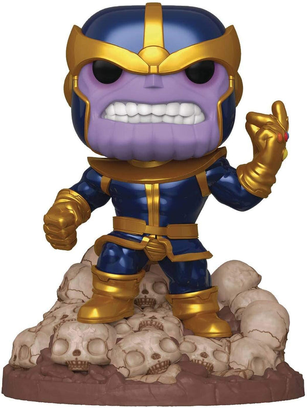 "Funko Pop! Marvel Heroes: Thanos Snap 6"" Deluxe Vinyl Figure - Kryptonite Character Store"
