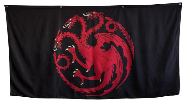 Game of Thrones House Targeryan Giant Banner - Kryptonite Character Store