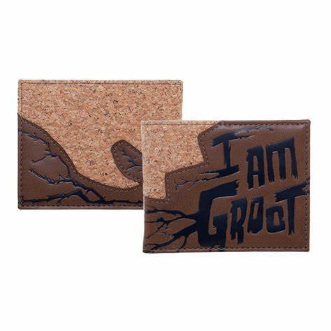 "Marvel Guardians of the Galaxy ""I am Groot"" Bi-Fold Wallet- Kryptonite Character Store"