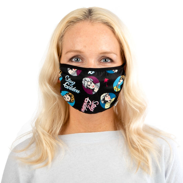 Golden Girls Stay Golden Adjustable Face Cover